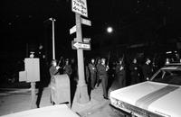 Black Panthers; Negro Militant Organization. -Confrontation with Detroit Police at 3376 16th Street. -Crowd at Scene