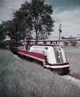 Detroit Zoo; Railroad.