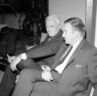 Dykstra, John; Ford Motor Co President. With Henry Ford II.