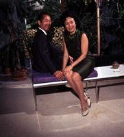 Yamasaki, Minoru; Architect. & wife Teri. 2 - 120mm