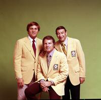 Cosell, Howard; Sports Broadcaster. Don Meredith, Frank Gifford & Cosell