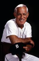Anderson, Sparky; Detroit Tigers Baseball Manager.