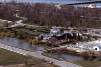 Belle Isle; Conservatory . -Aerial Views