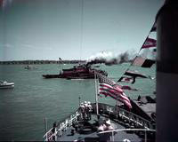 Boats; Tug Boat Races. taken 1950