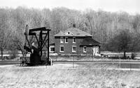 Oil Wells; Michigan. northern lower peninsula. date is April 1981
