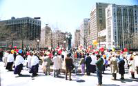 "Nuclear Power Demonstration; ""Ground Zero Detroit"""