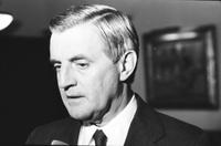 Mondale, Walter; United States Vice President. (former). -at Detroit Club