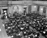 Michigan Legislature; Senate . in session
