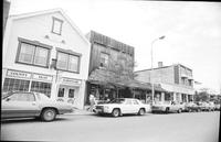 Michigan; Cities; ; Bellaire. street scenes