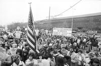 McLouth Steel Corporation; Workers Demonstration to save the plant