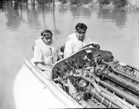 Perry, Clell. Motor Boat Racer with Milton Buick . Perry died 8-31-1951