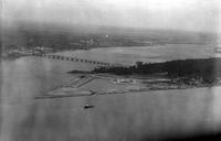 Bridges; Belle Isle; Bridge; New; Aerial View.