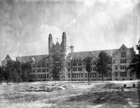 Colleges; Marygrove College; Detroit; New Buildings. with. Old Building at Monroe, former St. Mary's . Marygrove College. - and St. Mary's Academy at. Monroe.