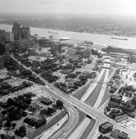 Detroit; Streets; Lodge X-Way; Aerial Views. - Looking North From Fort St. - Looking South From Michigan and Bagley.