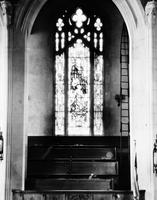 Churches; Christian; Central Christian Church (New One On Woodward). Lincoln window. Date is 1929