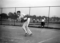 Cobb, Jr. Ty; Tennis. Ty Cobb jr. on left