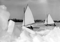 Boats; Iceboats; Group Of.