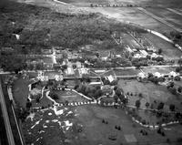 Training School at Lapeer. - Airphoto.