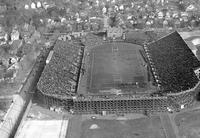 Colleges; University of Michigan; Buildings; Stadium; Old. Ferry Field;  - Airphoto.