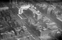 Detroit News; Building; Aerial View.