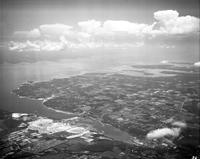 New York; Cities; New York; Clouds. - Airphoto.
