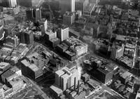 Detroit; Streets; Washington Boulevard; Aerial View.