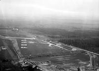 Ford Motor Co. ; Aero; Airports; Aerial View. Taken from plane 'Los Angeles""