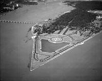 Motorboats; Races; Gold Cup; Detroit; General Views. - Airphoto.