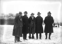 Ford, Henry; Groups; With Edsel Ford; Mr. William B. Mayo; Mr. William B. Stout.