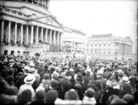District Of Columbia; Washington; Inauguration of President Roosevelt; Crowd