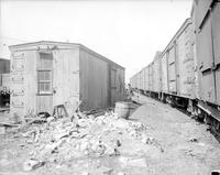 Poverty Scenes; Homes; Box Car Homes