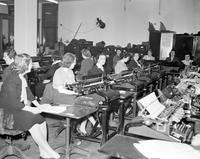 Presidents; Elections; 1944. Tabulating votes.