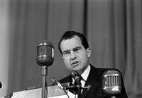 Nixon, Richard M. ; Former United States Vice President; In Detroit.