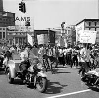 Negroes; Detroit; Freedom Parade & Rally.