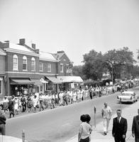 Negroes; Michigan; Grosse Pointe. Freedom Parade. Governor George Romney.