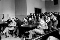 Ford, Henry; Suits Against; Stockholders Tax Suit of 1927; Court Scenes.