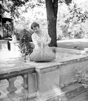 Ford, Mrs. Henry; Dearborn, Michigan; Informal Poses at Dearborn Home.