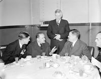 Haller, General Josef; Polish War Hero. -In Detroit, February 5, 1940. -With; K. T. Keller, William J. O'Neil, Mayor Walter Kanar