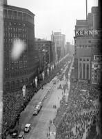 Automobiles; History; Detroit; Jubilee. Parade.