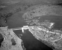 Ford Motor Co. ; Dams; Power Dam N. W. Iron Mountain. - Airphoto.