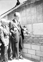 Ford, Gerald R. ; Library; University of Michigan; Laying of Cornerstone