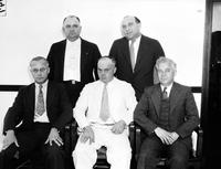 United States Marshalls; 1934. John Barc swearing in new deputy marshals:. Adam Miecikowski. David Davidson. Leon Budziak. Frank Dingell. Tom Randall