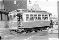 Detroit; Trolleys.--Nine block run on Washington Blvd. From Grand Circus Park to Cobo Hall, 1976.--Final link, Cobo Hall to Ren Cen, Officially opened 3/20/80.--Summer Art 6/20/80.