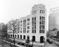 Detroit Times; Building; Exterior View. Purchased by the Detroit News.
