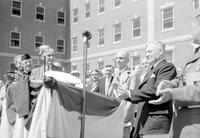 Veterans Hospitals; Michigan; Dearborn; Dedication. Guy T. Palmer, Henry Ford.