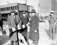 Streets; Woodward; Widened; Opening.--Adams to Vernor Highway.--Frank W. Weir; Lt. Millard Brown & Harold F. Zumstein.