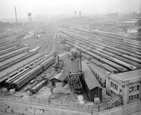 Strikes; Railroad; Detroit. -Michigan Central Station