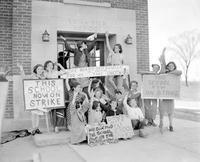 Strikes; Students; Luna Pier High School