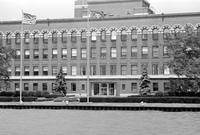 Stroh Companies Inc. ; Building Exterior; On Detroit Waterfront (Shot from the River)