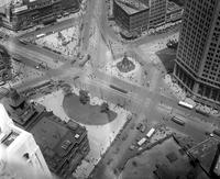 Streets; Campus Martius; Birds-Eye View
